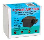 Power Air 1800 l/h AirPump Multi Outlet pump for large tanks / fish houses or ponds